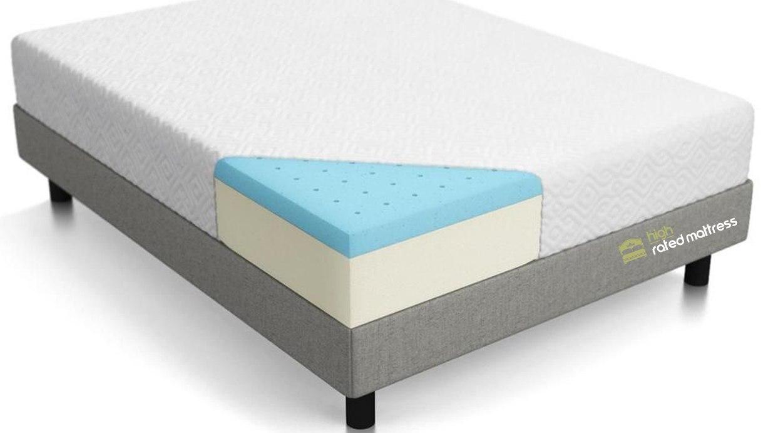 Lucid 10 Inch Gel Memory Foam Mattress 3